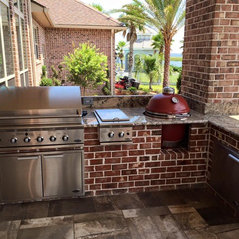 Outdoor Kitchen By Luxury Countertops