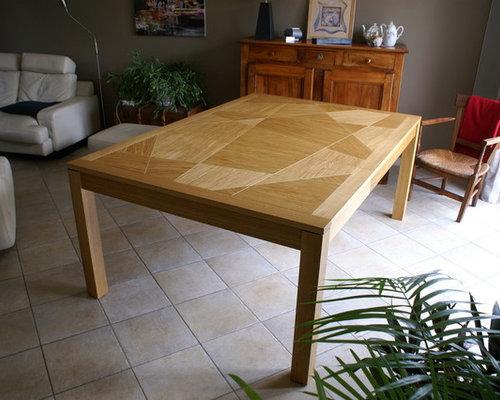 Table carrée extensible en chêne - Produits