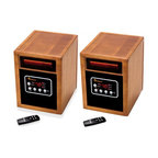Dr. Infrared Heater Combo Pack, Quartz and PTC Dual Heating System, 1500W