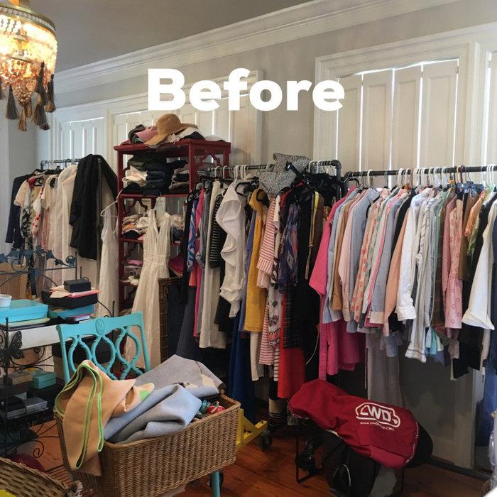 Church street dressing room makeover