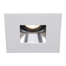 wac lighting wac lighting recessed low volt trim square white hrd412 - Square Recessed Lighting