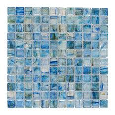 """12""""x12"""" Lagoon Glass Tile"""