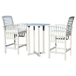 Transitional Outdoor Pub And Bistro Sets by Safavieh