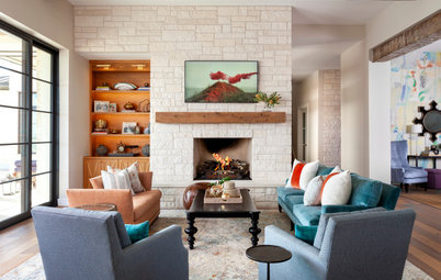 New This Week: 5 Stylish Living Rooms With Ample Seating