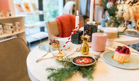 Weihnachtsdeko + Verlosung: Eine Festtafel aus dem Hotel Ultra