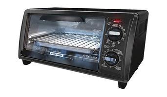 Black & Decker (TO1332BD) 1150W 120V-60Hz 4-Slice Toast-R-Oven & Broiler