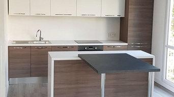 Projet rénovation cuisine Studio - Rennes