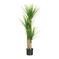 58.5 in. Yucca Silk Tree in Green