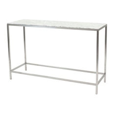 New Pacific Direct Inc.   Shea Marble Console Tabletop   Console Tables