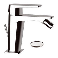 Dream Chrome Plated Bidet Mixer Tap, Waste Plug Included