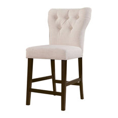 Counter Height Chair White, Set of 2