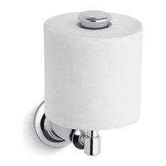 Kohler Archer Vertical Toilet Tissue Holder, Polished Chrome