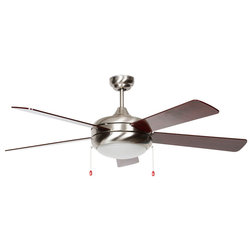 Transitional Ceiling Fans by Luminance