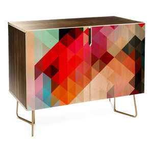 Deny Designs Three Of The Possessed Words Heavy 1 Credenza
