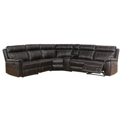 Contemporary Sectional Sofas by Abbyson Living