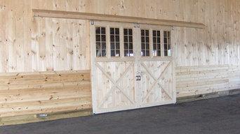 Split Sliding Barn Doors