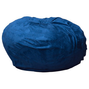 Super Plush Microfiber Bean Bag Sea Blue 5 Bean Bag Chairs Gmtry Best Dining Table And Chair Ideas Images Gmtryco
