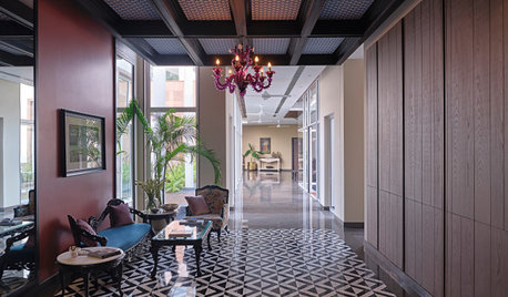 Delhi Houzz: This Family Home Has Separate Suites for Each Member