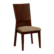 Montreal I BM131137 Side Chairs With Fabric Cushion, Walnut, Set of 2