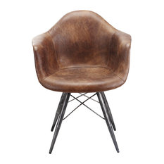 Flynn Club Chair, Light Brown