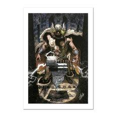 """Thor: For Asgard #6"" Art, Stan Lee, Marvel Comics"