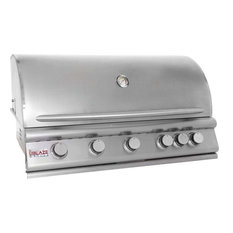 "Blaze 40"" 5-Burner Built-In Natural Gas Grill With Rear Infrared Burner"