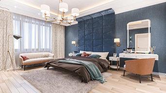 Роскошная спальня для супругов