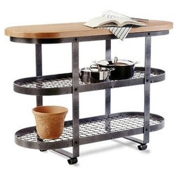 Nice Industrial Kitchen Islands And Kitchen Carts by FactoryDirectyou