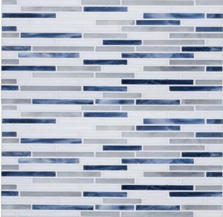 Moody Blues Glass Mosaic - Tile
