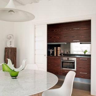 Imagen de diseño residencial contemporáneo pequeño