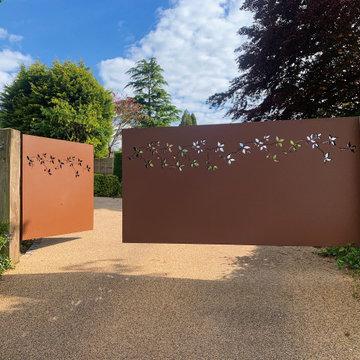 Bespoke Decorative Driveway Gate