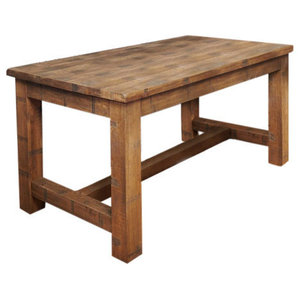 4 Person Heyford Rough Sawn Oak Dining Table