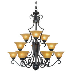 Traditional Chandeliers by GSPN