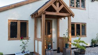 Shropshire porch