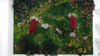 giardini verticali preservati