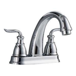 "Sforzando 2-Handle 4"" Centerset Lavatory Faucet, Polished Chrome"