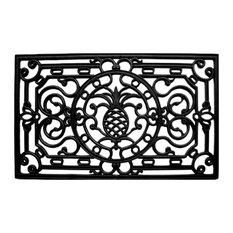 """Pineapple Heritage Rubber Doormat 18""""x30"""""""