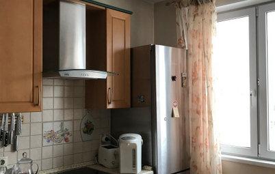До и после: 5 кухонь из 2000-х после дизайнерской переделки