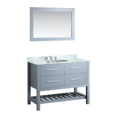 43'' Bosconi SB-250-6GRCM Contemporary Single Vanity