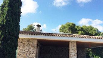 Instalación fotovoltaica en santa Barbara
