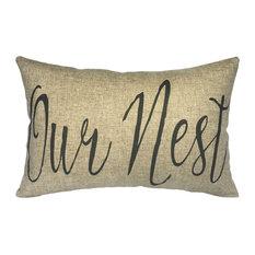 Our Nest Linen Pillow