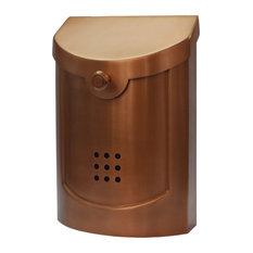 E5 Mailbox, Copper Finish