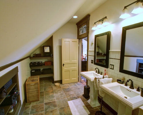 Attic Bathroom Houzz
