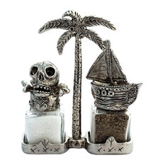 Pirate Ship Salt and Pepper Shakers