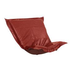 Avanti Puff Chair Cushion, Apple Red