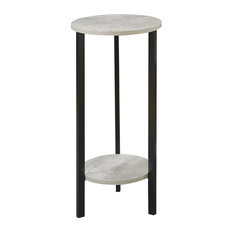 """Convenience Concepts Graystone 31"""" Plant Stand, Faux Birch"""
