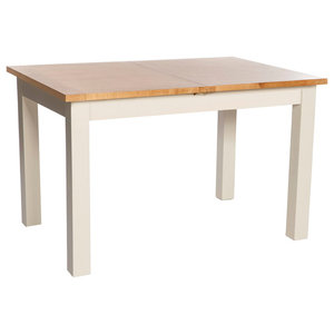 Large York Extending Dining Table, Ivory