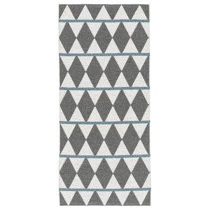 Zigge Woven Vinyl Floor Cloth, Grey, 150x250 cm