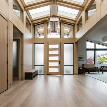 Downtown Bellevue Custom Home | Entry