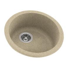 Swan 18.5x18.5x8 Solid Surface Drop Bar Sink, Prairie